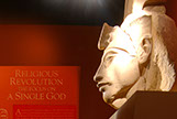 Akhenaten created the new Kingdom at Amarna and was Tut's father
